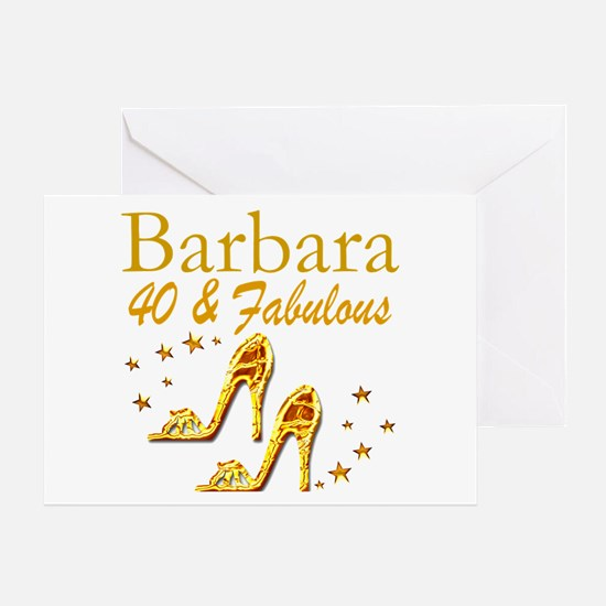 40TH PRIMA DONNA Greeting Card