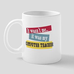 Computer Teacher Mug