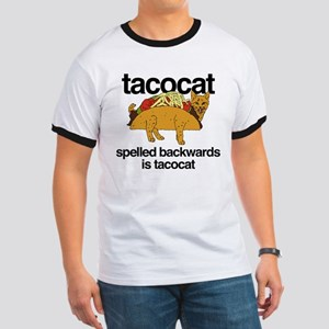 Tacocat Spelled Backwards Ringer T