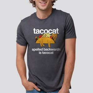 Tacocat Spelled Backwards Mens Tri-blend T-Shirt