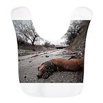 Dead Dog Shirt Polyester Baby Bib