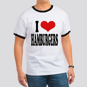 I Love Hamburgers (word) Ringer T