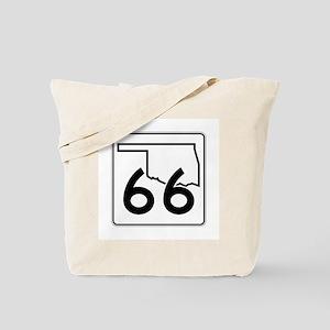 State Highway 66, Oklahoma Tote Bag