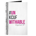 #unkcufwithable Block Logo Journal