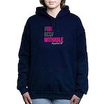 #unkcufwithable block logo Sweatshirt