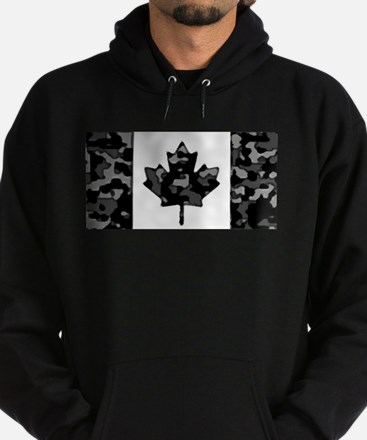 Canadian Flag Rocks & Ice & Mountain Ca Sweatshirt