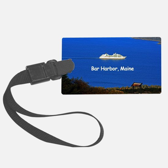 Cruising Bar Harbor Luggage Tag