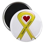 US Army Support Our Soldiers Ribbon Magnet