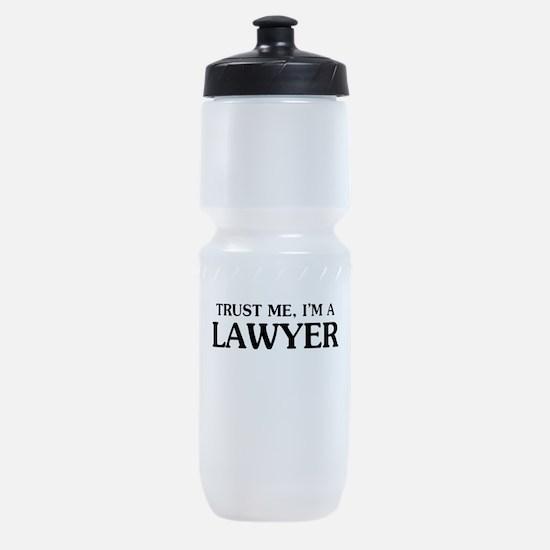 Trust Me Im A Lawyer Sports Bottle