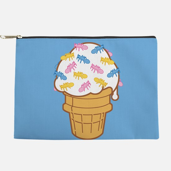 Ant Ice Cream Makeup Pouch