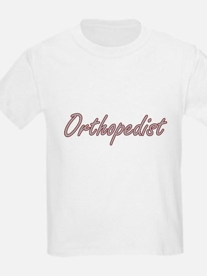 Orthopedist Artistic Job Design T-Shirt