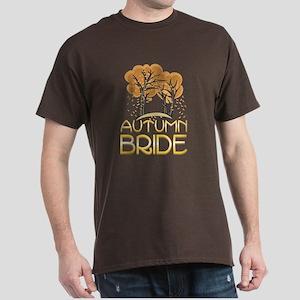Fall Autumn Bride Dark T-Shirt