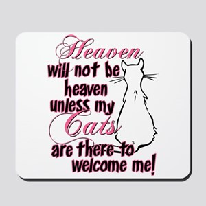Heaven with no cats? Mousepad