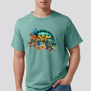Colorful Camouflage Chameleon T-Shirt
