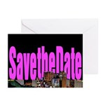 Save the Date Vegas Strip Cards 10