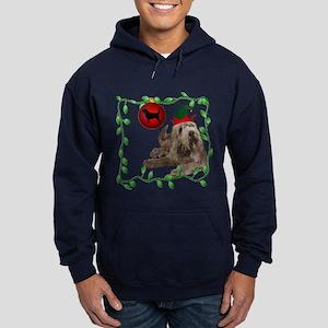 Otterhound Christmas Hoodie (dark)