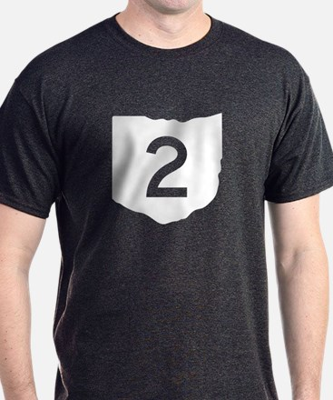 State Route 2, Ohio T-Shirt