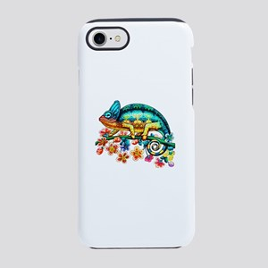 Colorful Camouflage Chameleon iPhone 7 Tough Case