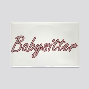 Babysitter Artistic Job Design Magnets