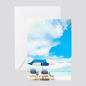 Beach Vacation Greeting Cards