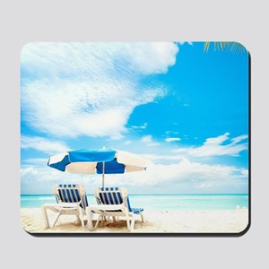Beach Vacation Mousepad