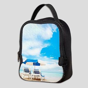 Beach Vacation Neoprene Lunch Bag