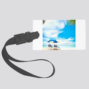 Beach Vacation Luggage Tag