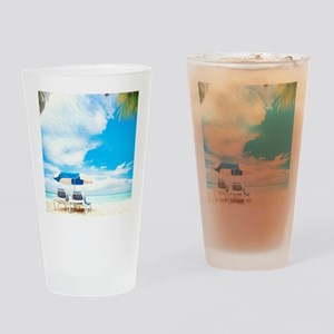 Beach Vacation Drinking Glass