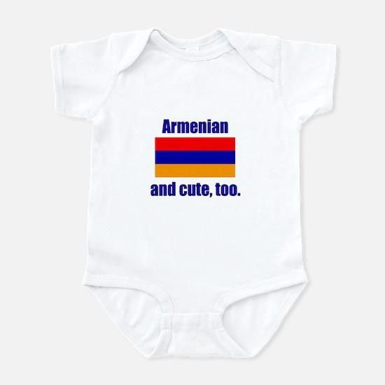 Cute Armenian Infant Bodysuit