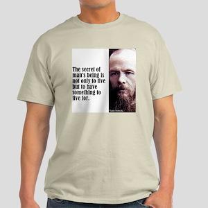 "Dostoevsky ""Secret"" Light T-Shirt"