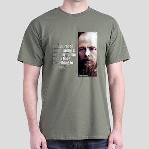 "Dostoevsky ""Secret"" Dark T-Shirt"