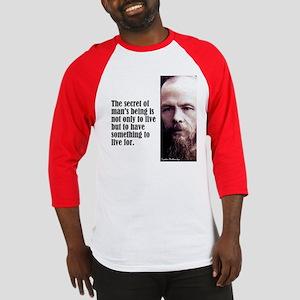 """Dostoevsky """"Secret"""" Baseball Jersey"""