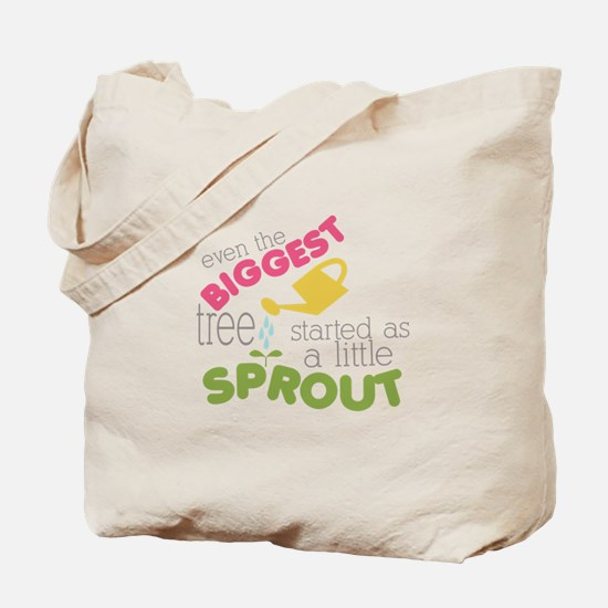 Little Sprout Tote Bag