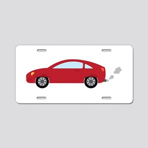 Coupe Car Aluminum License Plate
