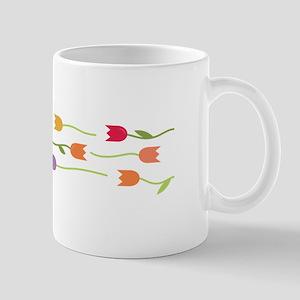 Tulip Border Mugs