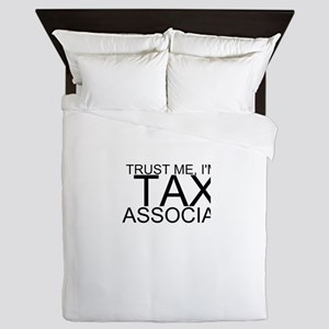 Trust Me, I'm A Tax Associate Queen Duvet