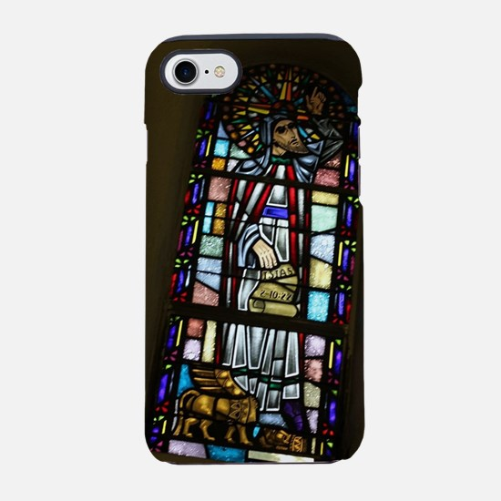 church stained glass window in iPhone 7 Tough Case