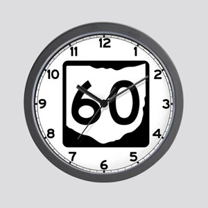 State Route 60, Ohio Wall Clock