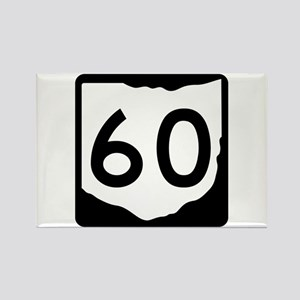 State Route 60, Ohio Rectangle Magnet