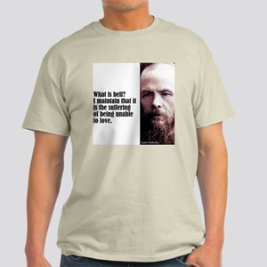 "Dostoevsky ""Hell Is"" Light T-Shirt"
