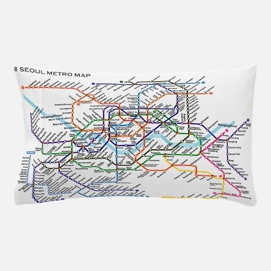 Unique Subway Pillow Case