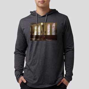 inside a church and pews Long Sleeve T-Shirt