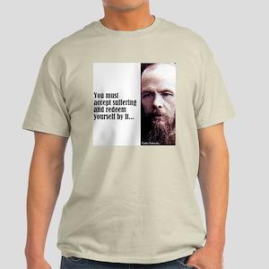 "Dostoevsky ""Accept"" Light T-Shirt"