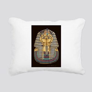 Tutankhamon's Mask Rectangular Canvas Pillow