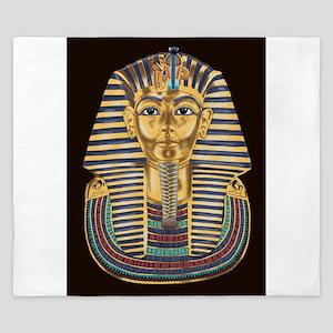 Tutankhamon's Mask King Duvet