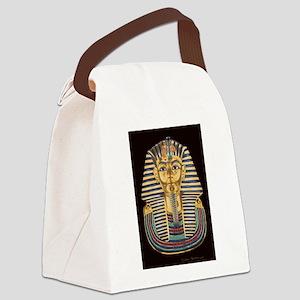 Tutankhamon's Mask Canvas Lunch Bag