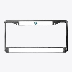 Miniature Rat Terrier License Plate Frame