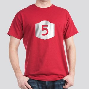 State Route 5, New York Dark T-Shirt