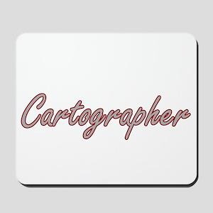 Cartographer Artistic Job Design Mousepad