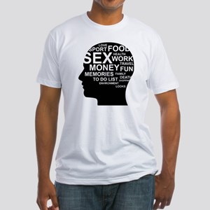 What's on man mind Brain Though T-Shirt
